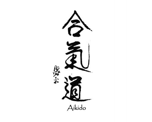 Aikido - in chinesischer Schrift